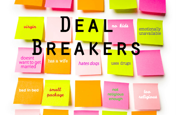 What Are Your Deal Breakers?   Angela Pugh